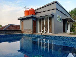 Villa 14 Fasilitas Kolam Renang Pribadi View Danau & Pegunungan (5 Kamar)