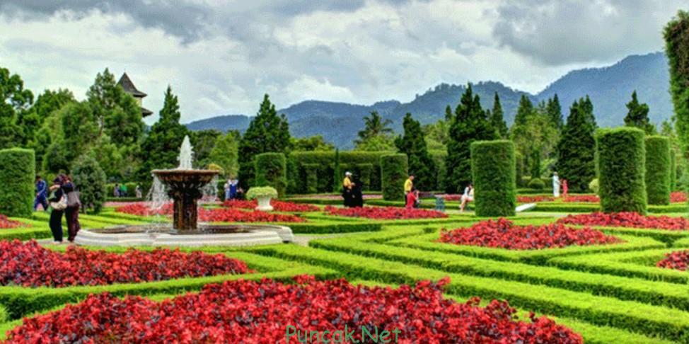 Tempat Wisata Bogor Taman Bunga Nusantara