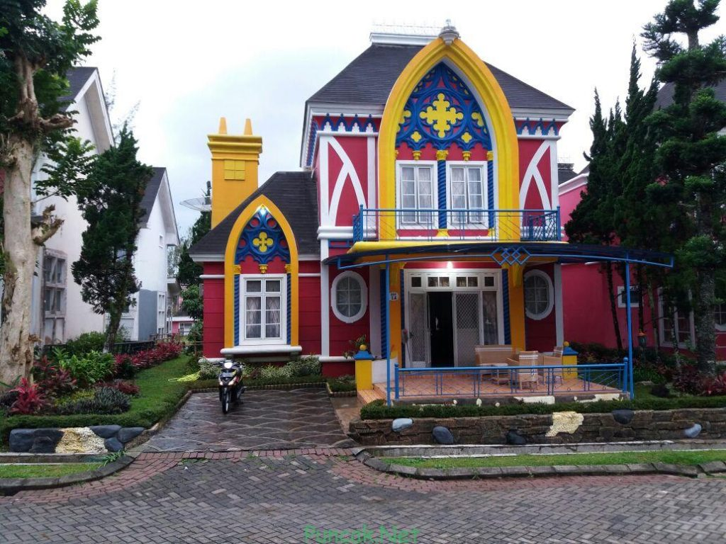 Villa Oxford 4N, Pilihan Sewa Villa Dekat Wisata Little Venice Cipanas