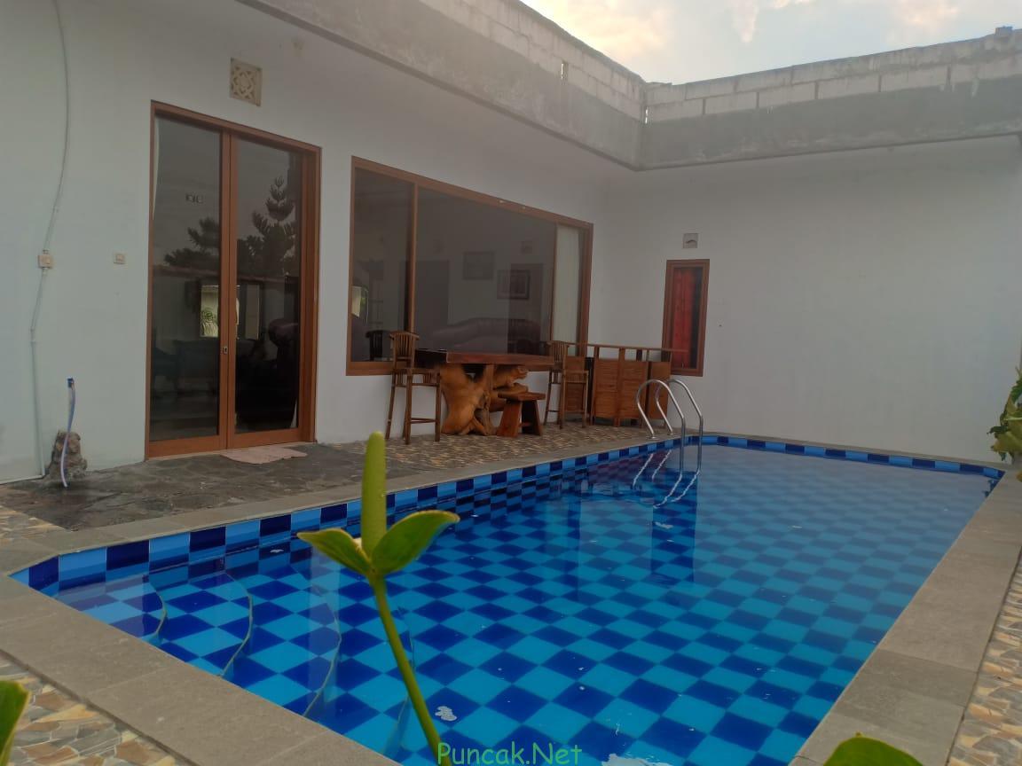 Villa Di Cibodas Puncak 6 Kamar Ada Kolam Renang Pribadi